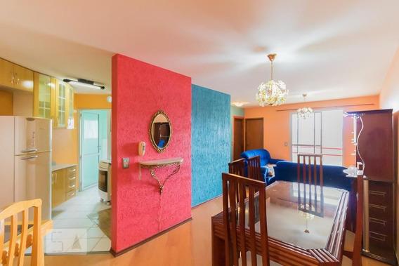 Apartamento No 2º Andar Mobiliado Com 2 Dormitórios E 1 Garagem - Id: 892991138 - 291138