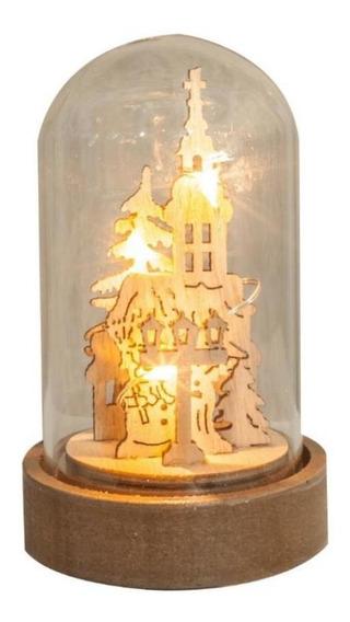 Enfeite De Natal Torre Iluminada Led Pilha - Taschibra