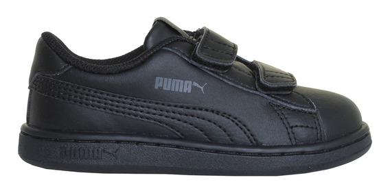 Zapatillas Puma Moda Smash V2 L V Inf Bebe Ng/ng