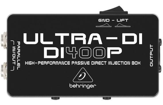 Direct Box Passivo Ultra Di 400 P - Behringer