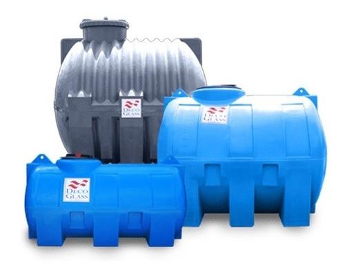 Tanque De Agua Horizontal Decoglass 750 Lts