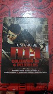 Colección Misión Imposible 4 Películas Dvd Original