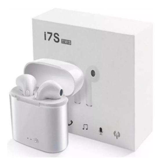 Fone De Ouvido I7s Bluetooth Android S/fio Pronta Entrega