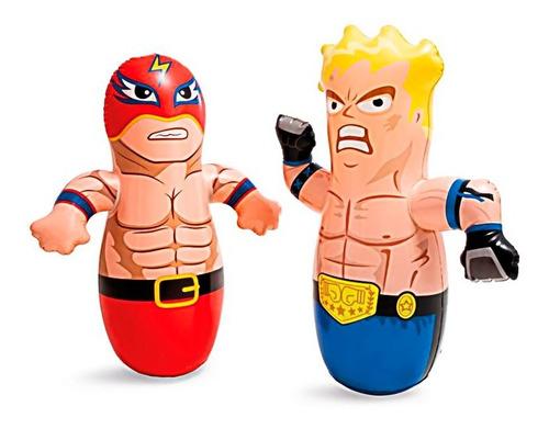 Golpeador Muñeco Inflable Intex 44672 Boxeador Luchador Nuev