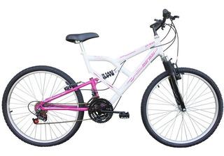 Bicicleta Aro 26 Mormaii Full Fa 240 Suspension 18 Marchas