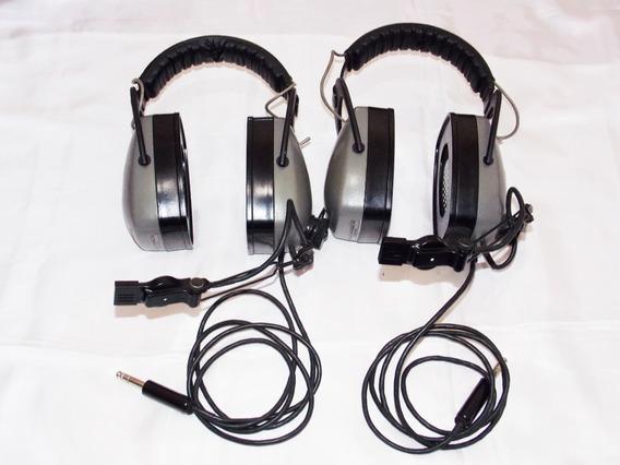 Headset Aviação Fones Comtronics (sem Almofadas)