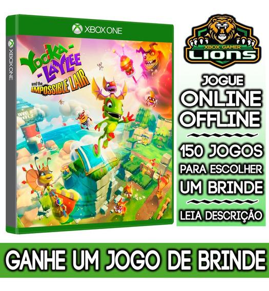 Yooka-laylee Impossible Xbox One + Brinde