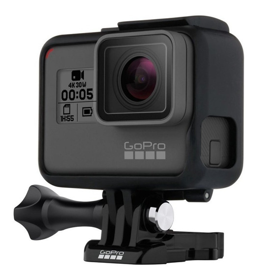 Gopro Hero 5 Black Camera Go Pro 5 4k Lacrada Recondicionada
