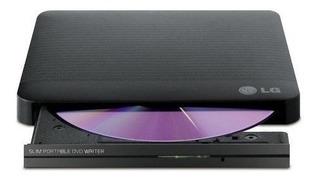 Grabadora Lectora Lg Dvd Cd Externa Slim Usb 2.0 Stock