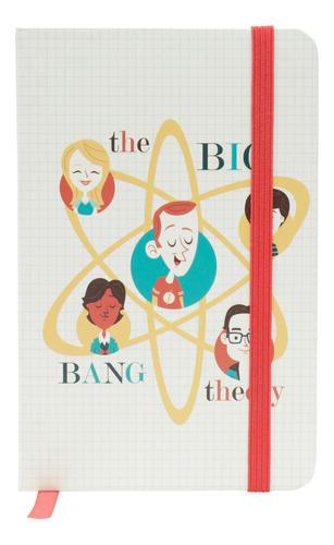 Caderneta Anotacao Big Bang Colorido A6 14,5x9,5cm  96fls