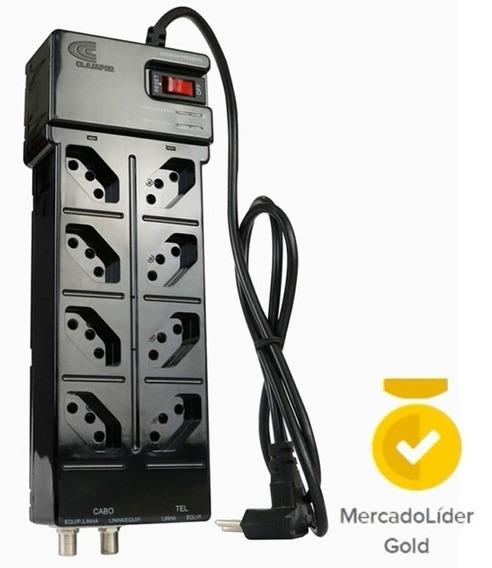 Protetor Profissional Clamper 8 T Multi Proteção - Pc Gamer