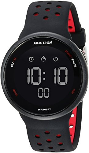 Armitron - Reloj Deportivo Unisex Con Cronógrafo Digital Y