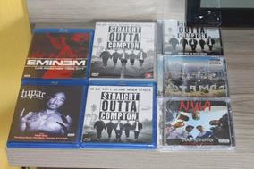 Kit Cd, Dvd, Blu Ray - N.w.a. Dr. Dre, Tupac, Eminem - 2018