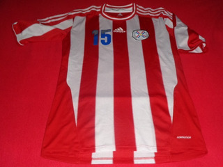 Paraguay Seleccion Local 15 Jersey Futbol Soccer