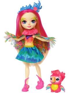 Muñeca Peeki Parrot Enchantimals
