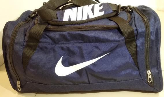 Bolso Nike Deportivo O De Viaje Brasilia S Azul