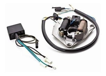 Kit Conversor Cdi Universal Honda Cg 125 Ml Até 1981 C/ Bobina Pulso