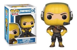 Funko Pop Fortnite Raptor 436 - Minijuegos