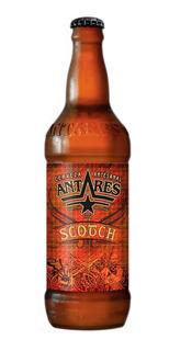 Caja X12 Cerveza Artesanal Scotch Antares 500 Ml