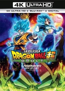 Dragon Ball Super Broly 4k Uhd Entrega Inmediata Digital