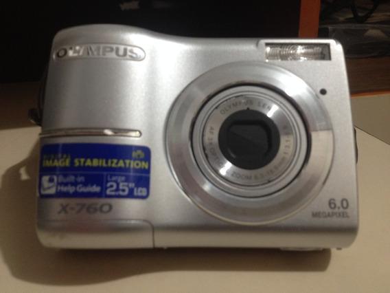 Câmera Fotográfica Olympus X-760 Digital Bolsa