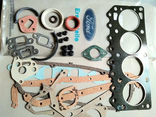 Imagen 1 de 2 de Juego De Juntas Y Retenes Ford Fiesta Mk1 Motor Ohv