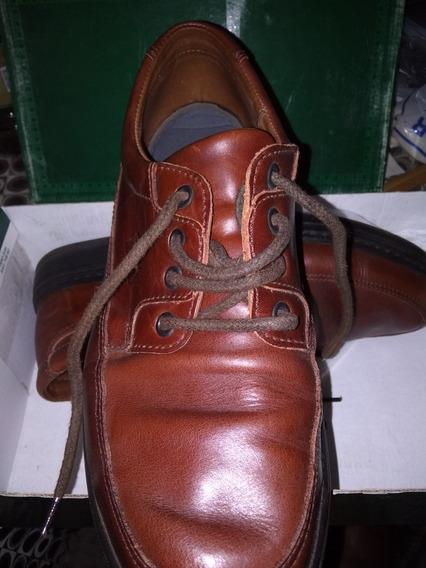 Oggi Cuero Zapatos Como Nuevos.