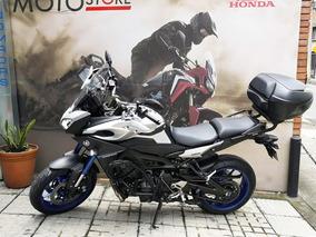 Yamaha Tracer Mt09 Plateada 2015