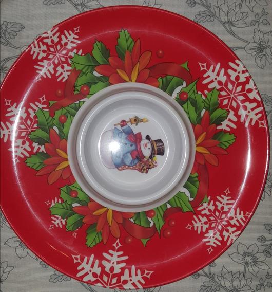 Copetinero Redondo Navidad