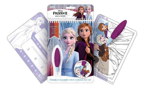 Imagen 1 de 5 de Libro De Actividades Frozen 2 Con Lapiz Magico Para Pintar