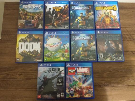 Lote De 23 Jogos De Playstation 4