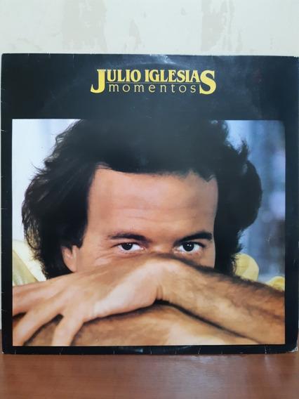 Lp Disco De Vinil Julio Iglesias Momentos 1982 Cbs