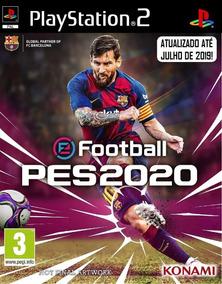 Pes 2020 Atualizado (kit De 4 Jogos Play 2)