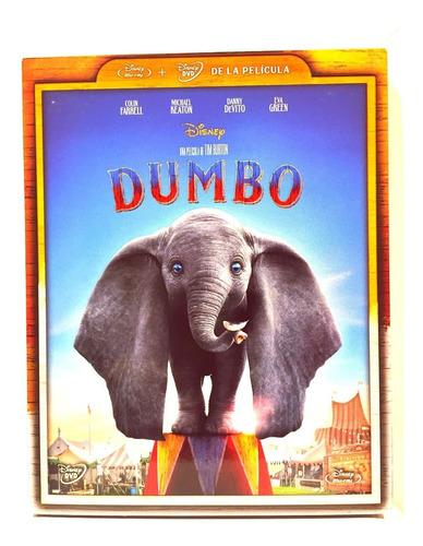 Disney Dumbo Colin Farrell Bluray Dvd Nuevo Original