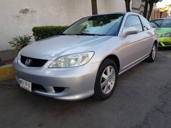 Honda Civic 2004 Coupe Ex Factura Orig 4 Cil 1.7 L 1dueño