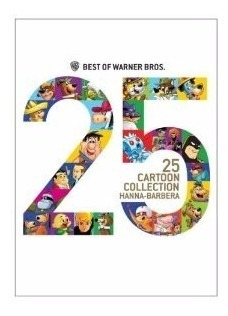 Coleção Hanna Barbera Dvd 25 Desenhos Warner Dublado