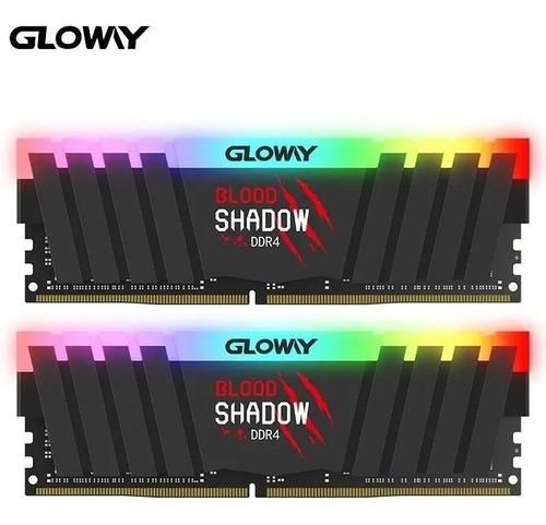 Imagem 1 de 5 de Memória Ram Blood Shadow Rgb Ddr4 3000mhz Gloway 2x8gb