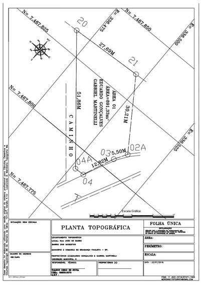 Terreno Bragança Paulista 891m2
