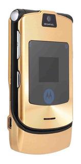 V3i 2.2 Pulgadas Pantalla Lcd Reacondicionado Flip Teléfono