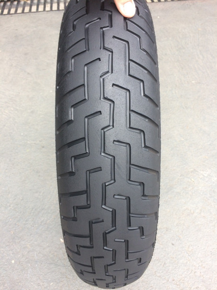 Pneu Diant 130/70/18 Dunlop D404f Usado Bom Custon Harley