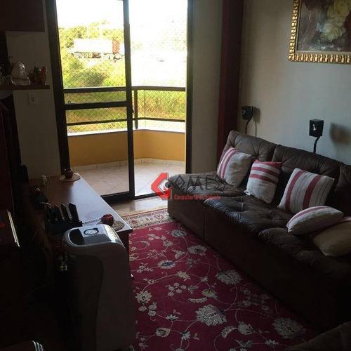 Apartamento À Venda, 101 M² Por R$ 510.000,00 - Vila Euclides - São Bernardo Do Campo/sp - Ap1296