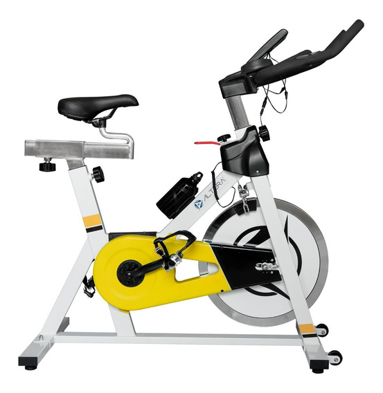 Bicicleta Spinning Ciclismo Interior Rueda De Inercia 18 Kg