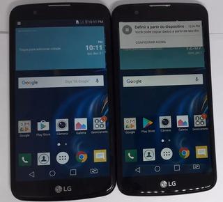 Lg K10 K430tv 4g Wifi 5.3 Dual Original Vitrine Dourado