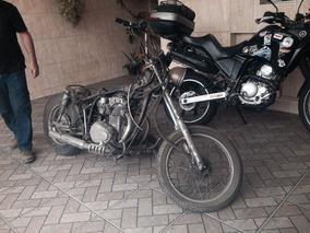 Cb 360 Honda Antiga- Motor Funcionando - Peças