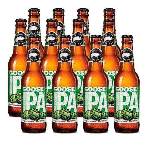 Cerveja Goose Island Ipa 355ml - Caixa Com 24 Unidades