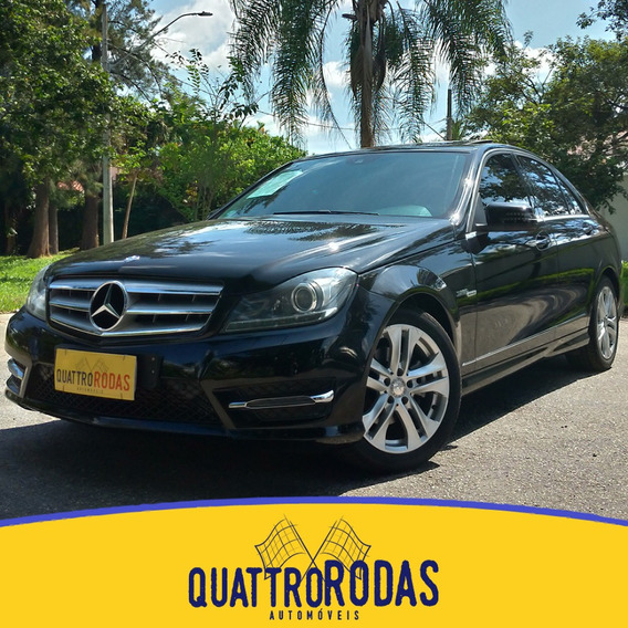 Mercedes C200 - 2013/2014 1.8 Cgi Turbo Sport 16v Gas 4p Aut