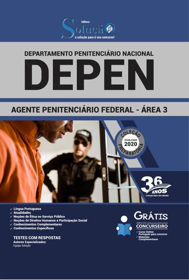 Apostila Depen 2020 Agente Penitenciário Federal