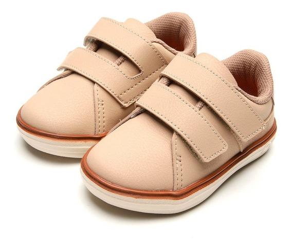 Tênis Casual Infantil Com Velcro