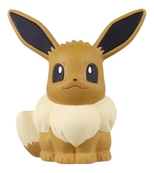 Pokemon Figura De Goma Eevee Squishi Mascot Tomy Arts