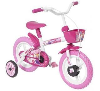 Bicicleta Infantil Aro 12 Track Bikes - Arco Iris W Branco